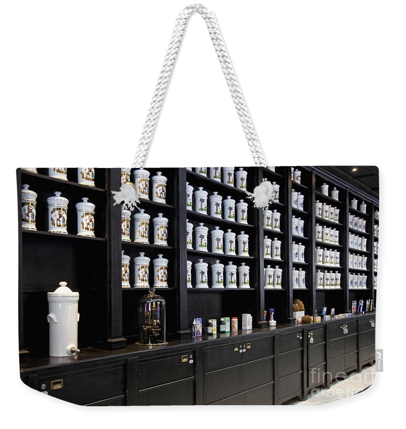 Porcelain Weekender Tote Bag featuring the photograph 130215p015 by Arterra Picture Library