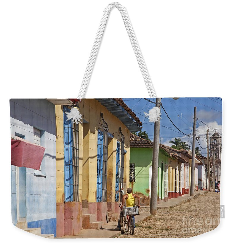 Pastel Weekender Tote Bag featuring the photograph 130215p070 by Arterra Picture Library