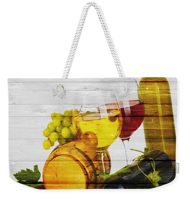Wine Weekender Tote Bag featuring the photograph Wine by Joe Hamilton