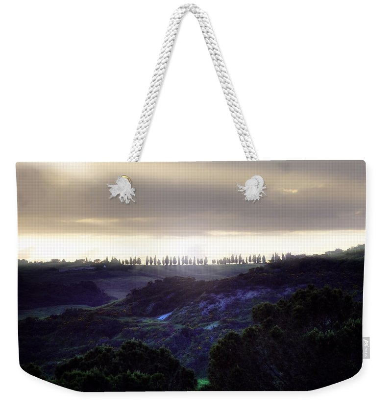 Pienza Weekender Tote Bag featuring the photograph Tuscany - Val D'orcia by Joana Kruse
