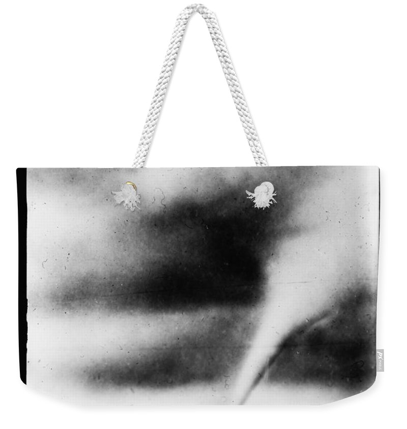 1913 Weekender Tote Bag featuring the photograph 1913 Oklahoma City Tornado by Bill Cannon