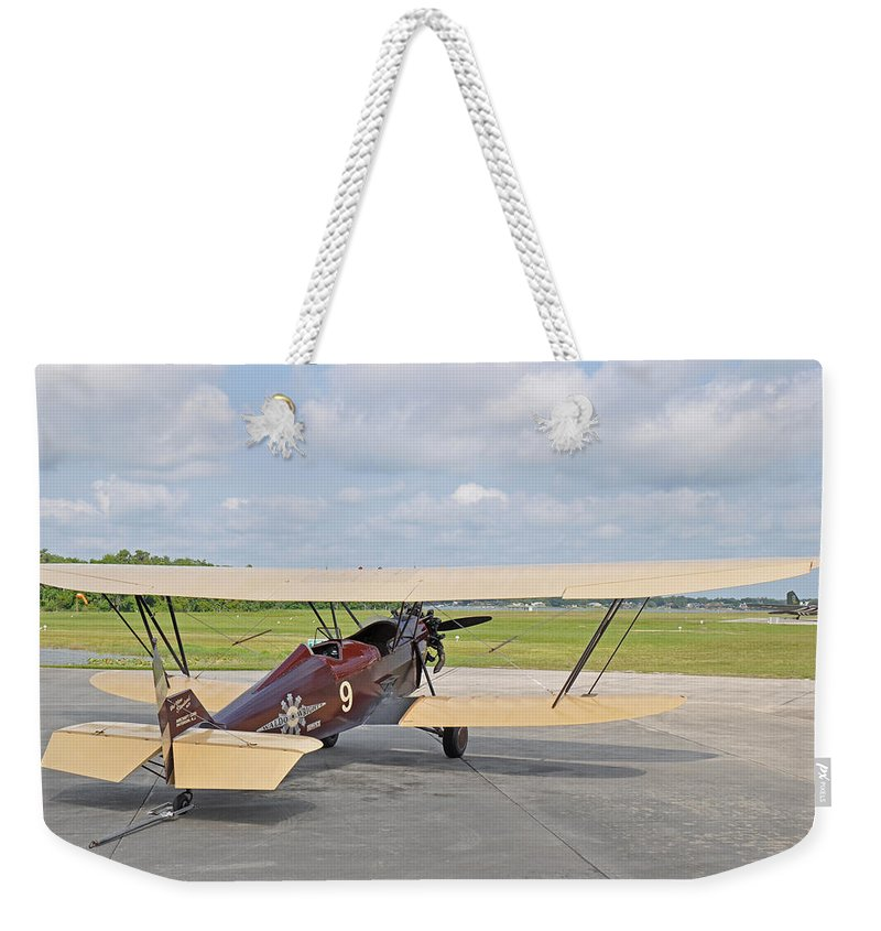 New Standard Weekender Tote Bag featuring the photograph 1929 New Standard D-25 by John Black
