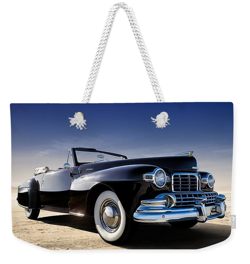 Classic Weekender Tote Bag featuring the digital art 1947 Lincoln Continental by Douglas Pittman