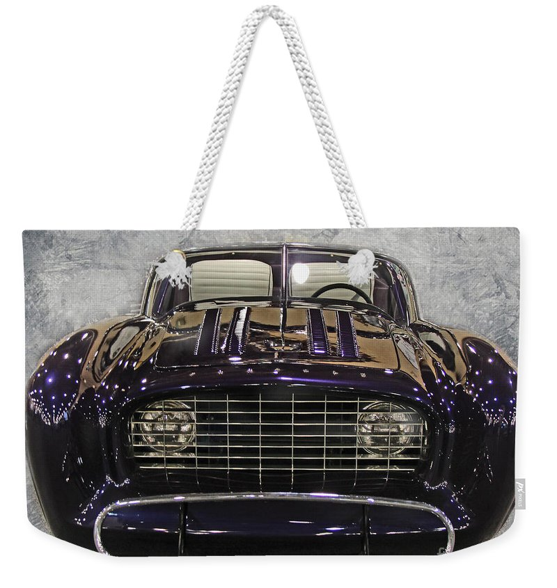 Concept Weekender Tote Bag featuring the photograph 1955 Flajole Forerunner by Tom Gari Gallery-Three-Photography