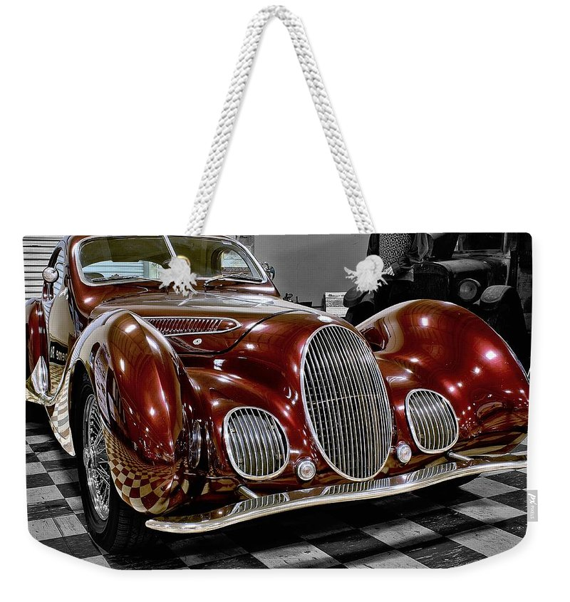 1992 Weekender Tote Bag featuring the photograph 1992 Talbo by Michael Gordon
