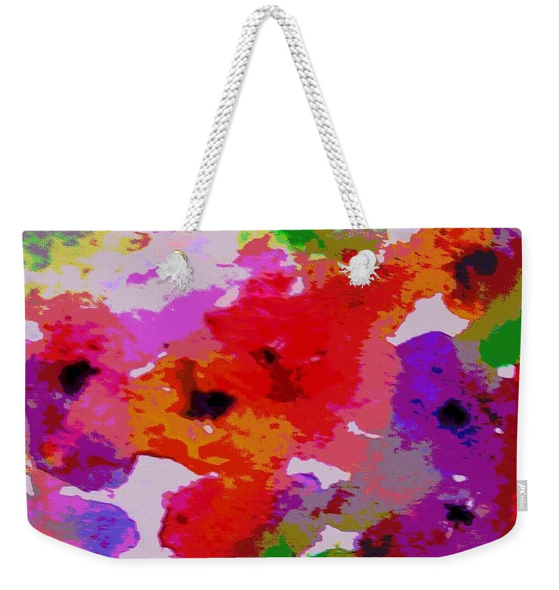 Flowers Weekender Tote Bag featuring the painting A Little Watercolor by Jamie Frier