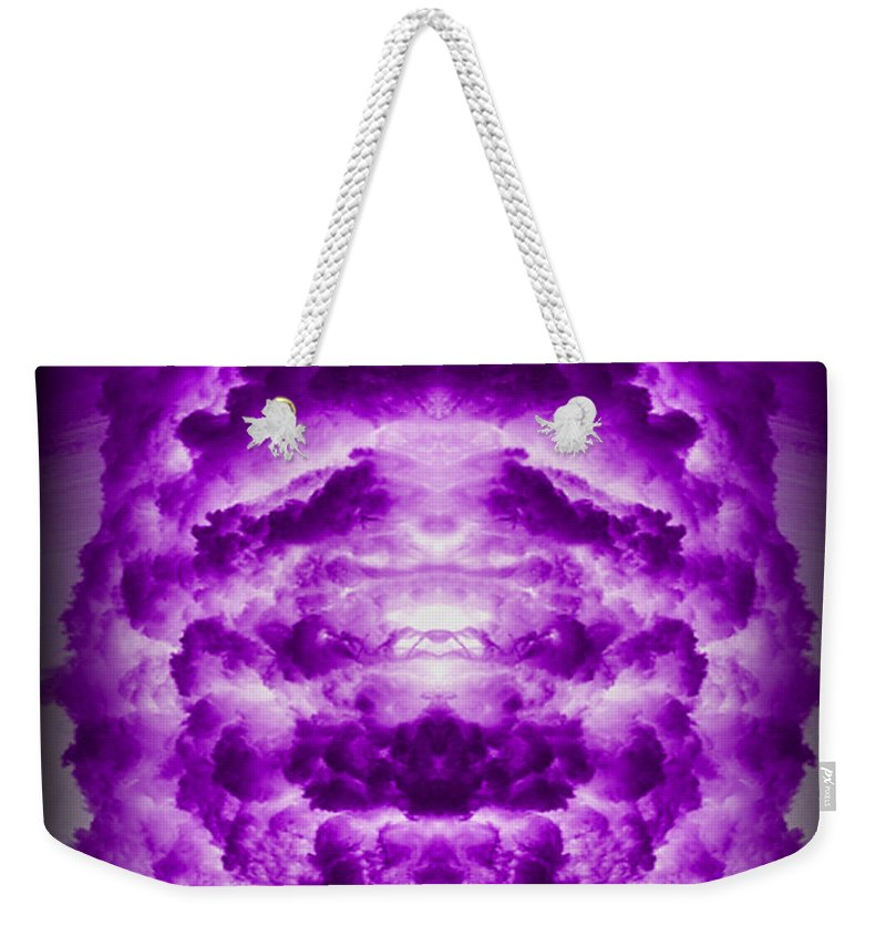 Original Weekender Tote Bag featuring the photograph Abstract 127 by J D Owen
