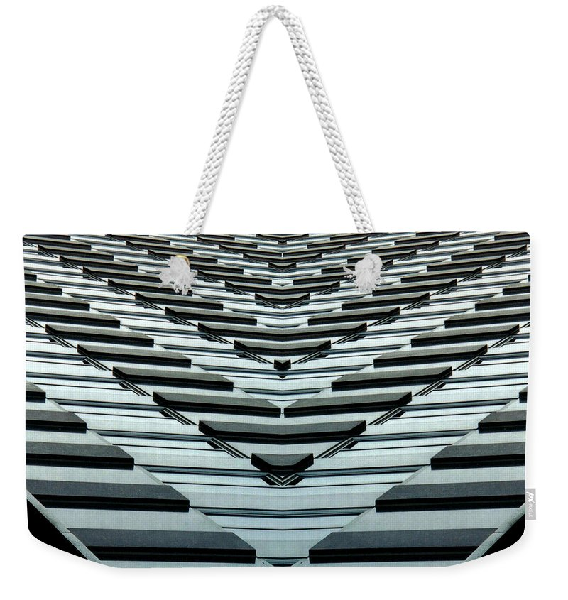 Original Weekender Tote Bag featuring the photograph Abstract Buildings 7 by J D Owen