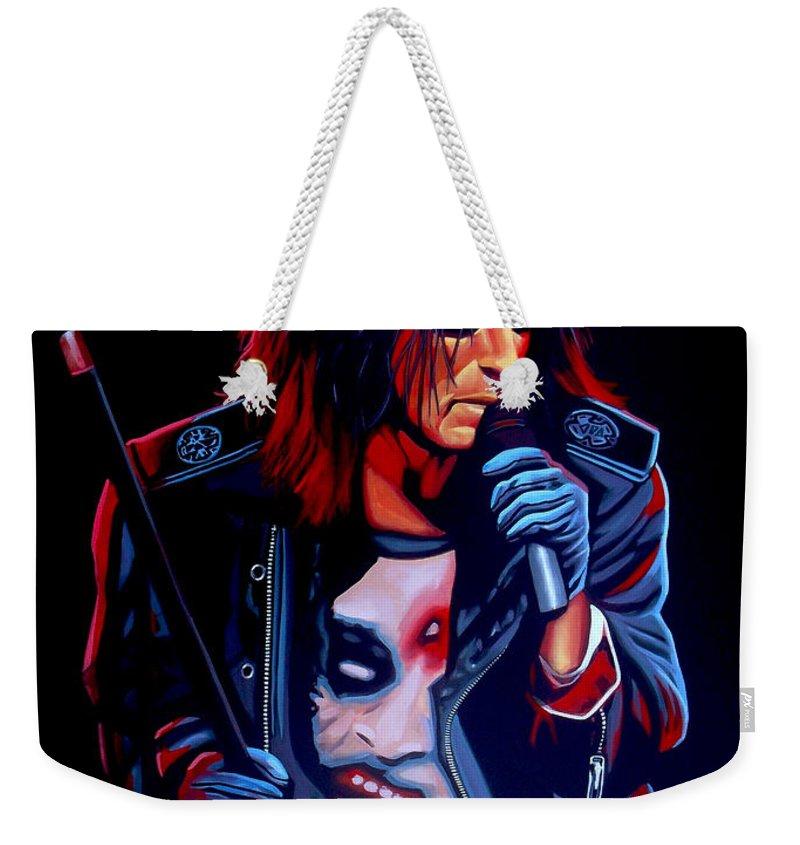 Alice Cooper Weekender Tote Bags