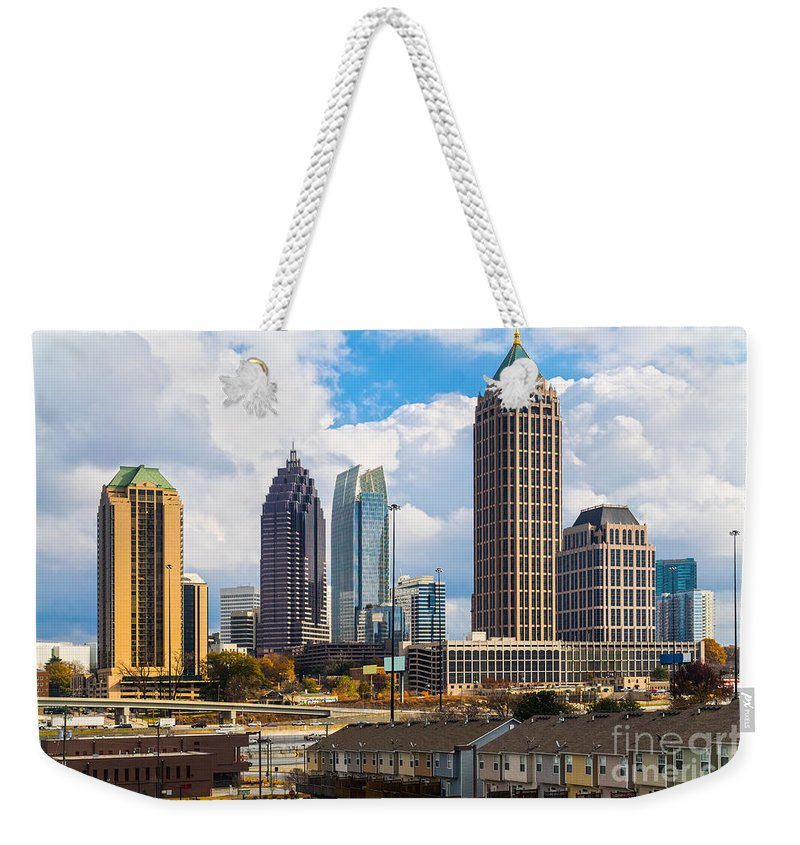 Atlanta Weekender Tote Bag featuring the photograph Atlanta - Georgia - Usa by Luciano Mortula
