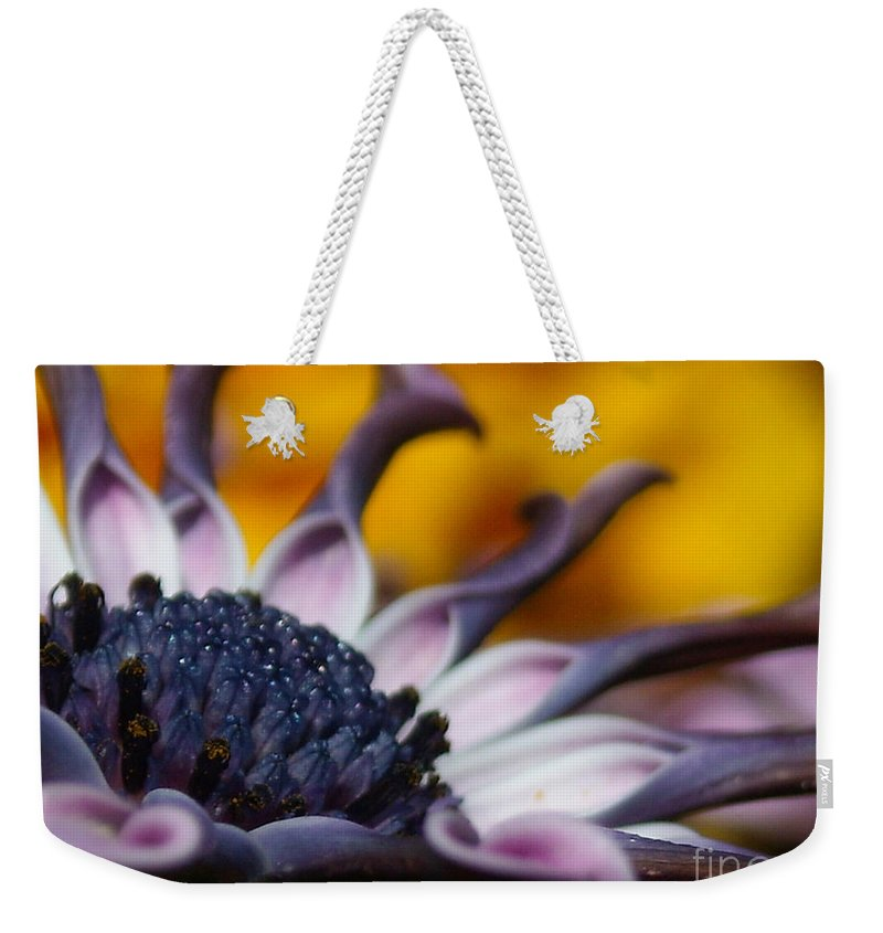 Flower Weekender Tote Bag featuring the photograph Beautiful by Line Gagne