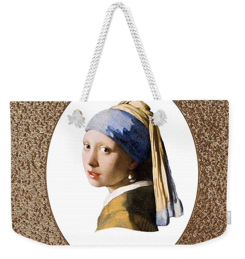 Vermeer Weekender Tote Bag featuring the photograph Beauty Adorned by Peter Lloyd