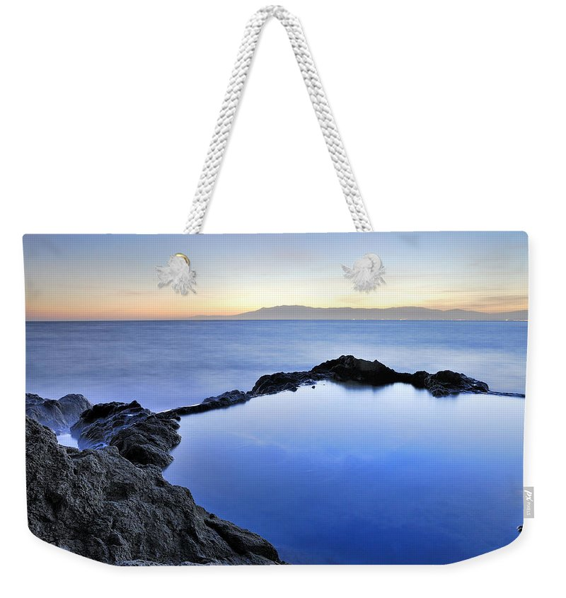 Water Weekender Tote Bag featuring the photograph Cabo De Gata by Guido Montanes Castillo