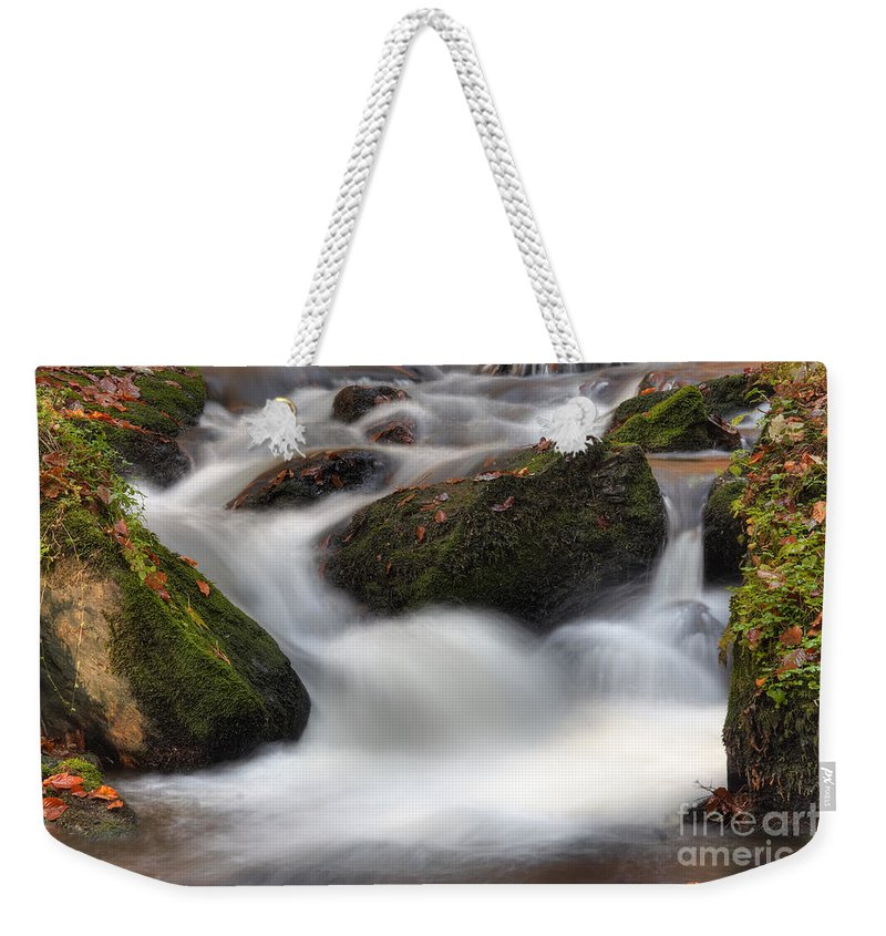 Wilderness Weekender Tote Bag featuring the photograph Cataracts by Michal Boubin