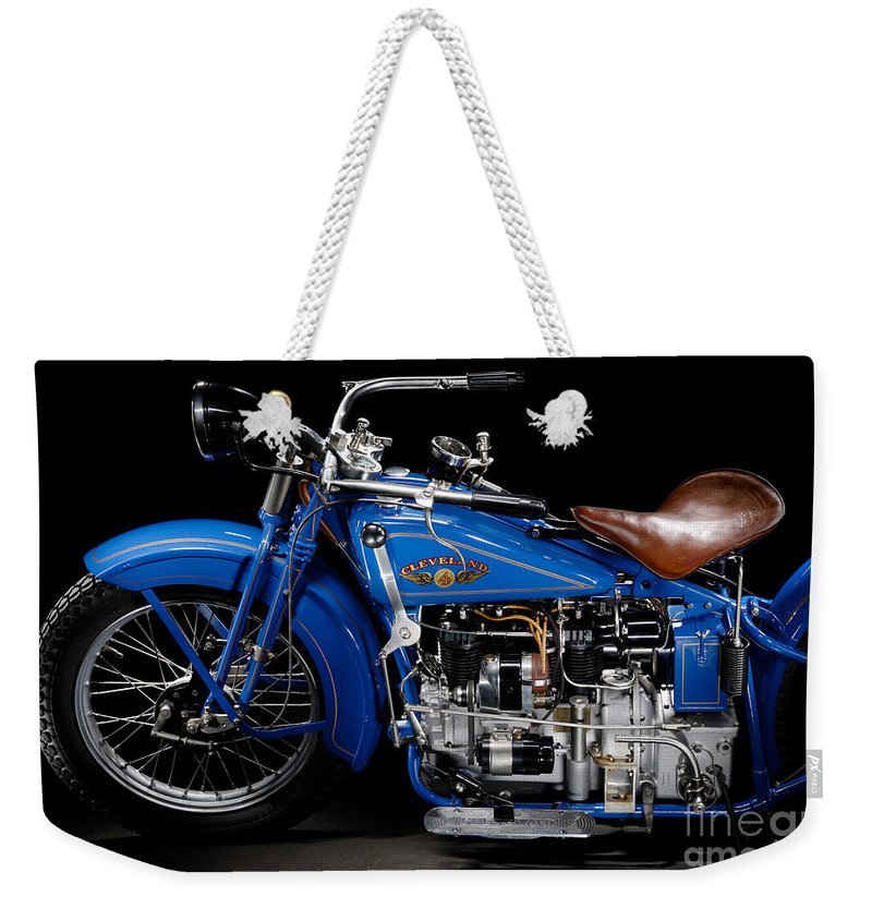 Motorcycle Weekender Tote Bag featuring the photograph Cleveland Tornado by Frank Kletschkus