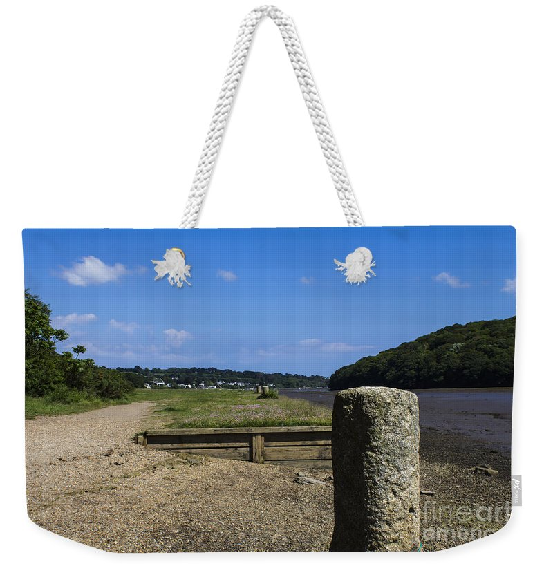 Landscape Weekender Tote Bag featuring the photograph Deveron River by Brian Roscorla