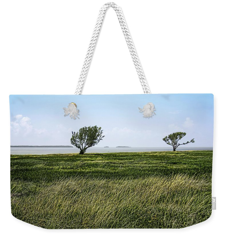 Atlantic Weekender Tote Bag featuring the photograph Florida Bay Everglades by Rudy Umans