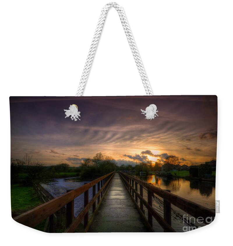 Art Weekender Tote Bag featuring the photograph Going Steady 2 by Yhun Suarez