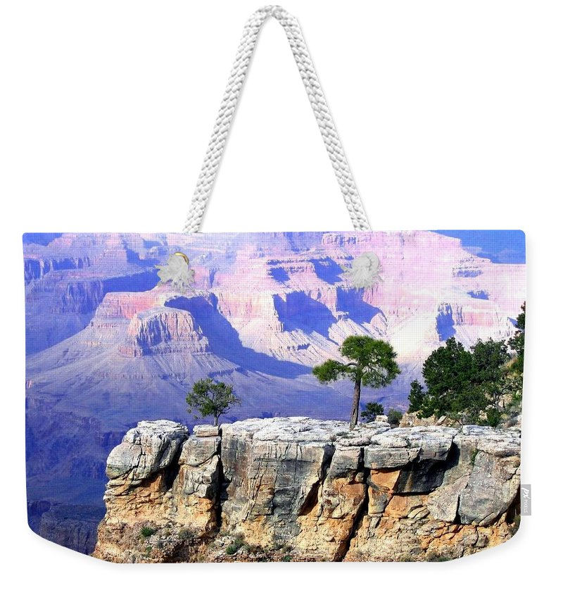 #grandcanyon1vista Weekender Tote Bag featuring the photograph Grand Canyon 1 by Will Borden