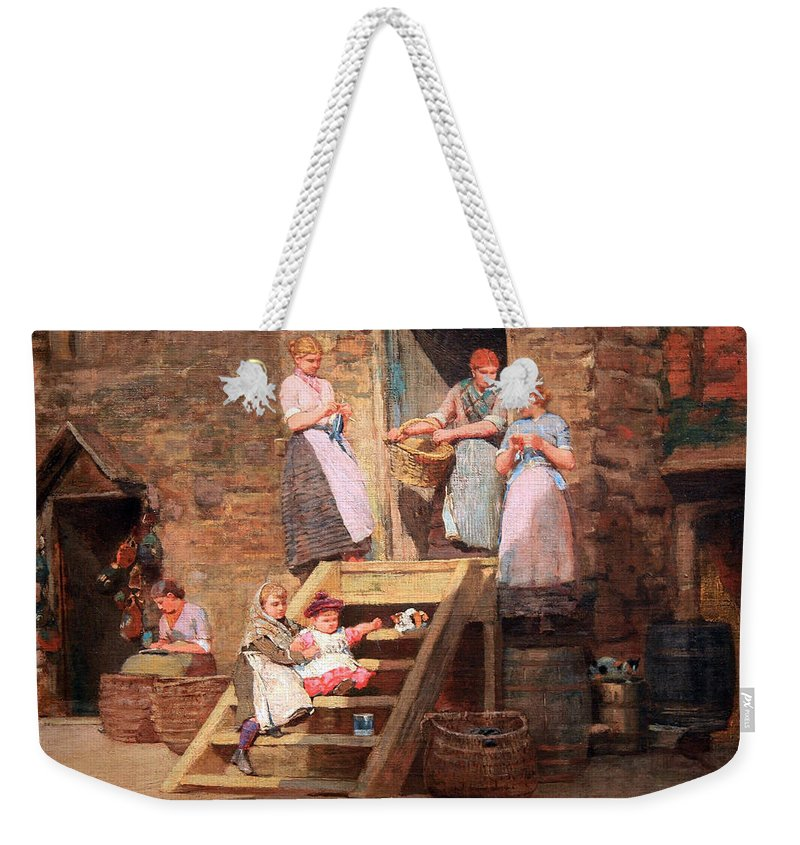 Sparrow Weekender Tote Bag featuring the photograph Homer's Sparrow Hall by Cora Wandel