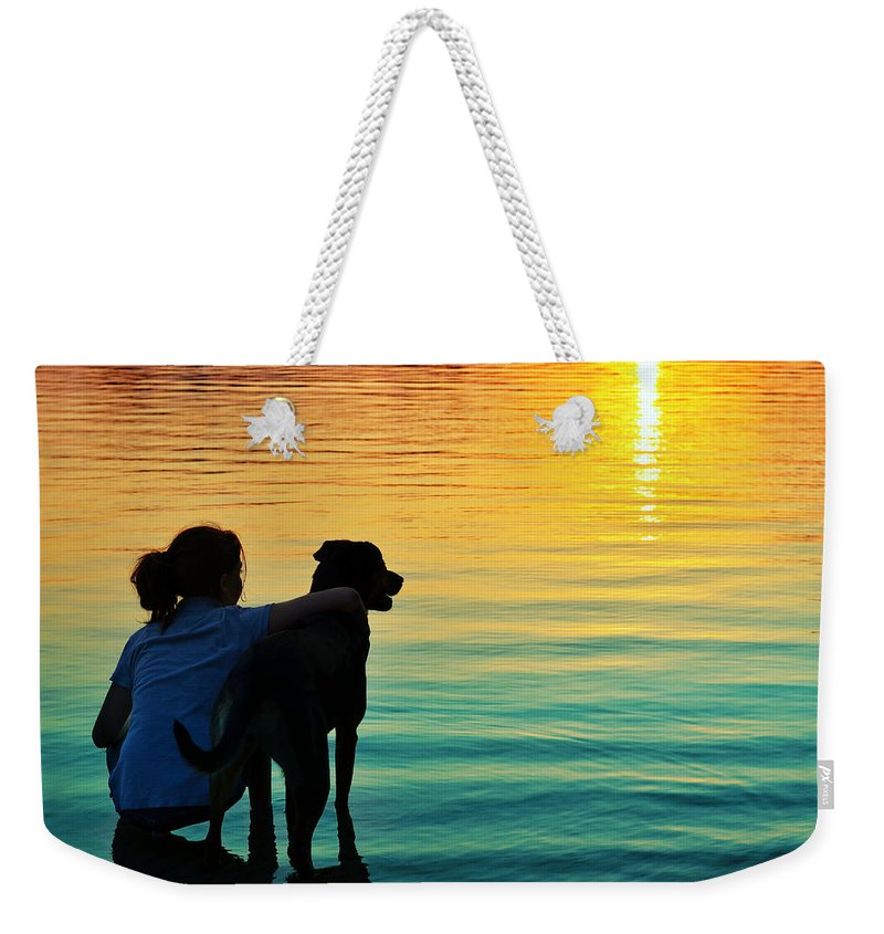 Laura Fasulo Weekender Tote Bag featuring the photograph Island by Laura Fasulo