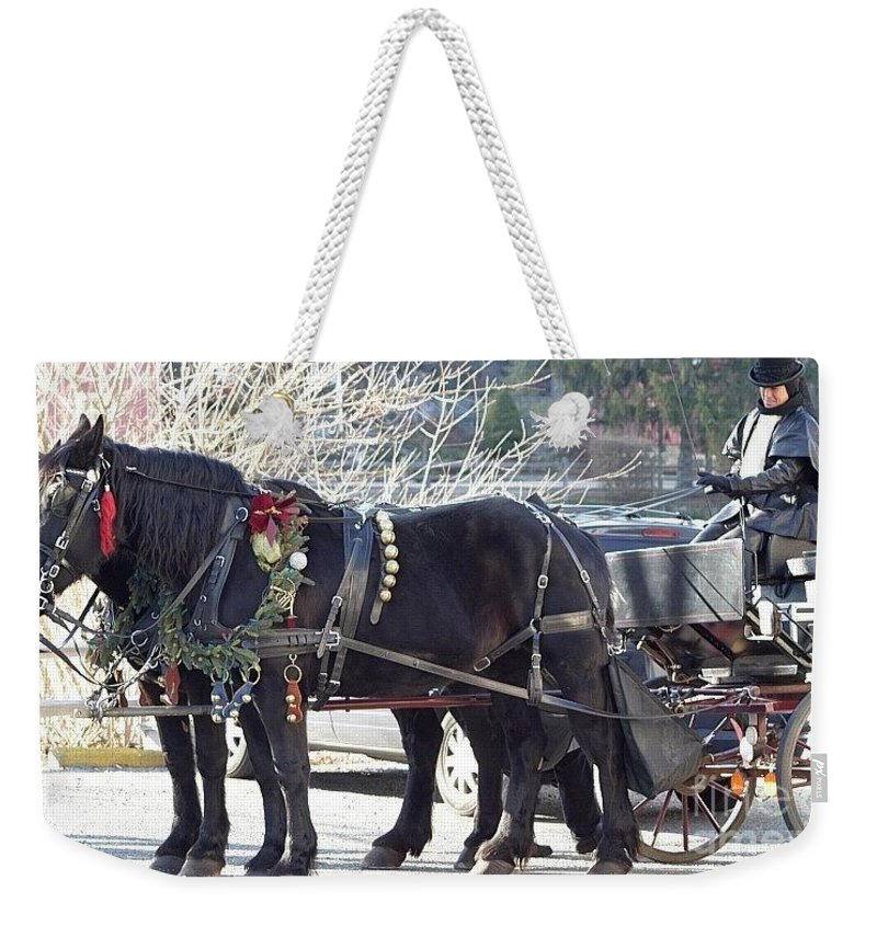 Christmas Weekender Tote Bag featuring the photograph It's The Most Wonderful Time Of The Year by Living Color Photography Lorraine Lynch
