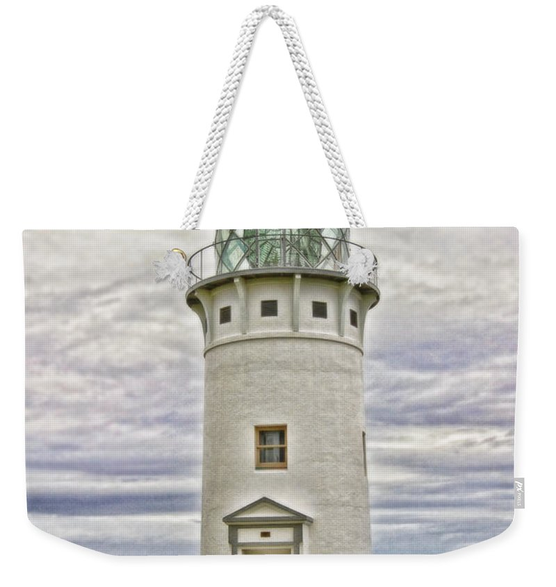 Kilauea Lighthouse Weekender Tote Bag featuring the photograph Kilauea Lighthouse by Scott Pellegrin