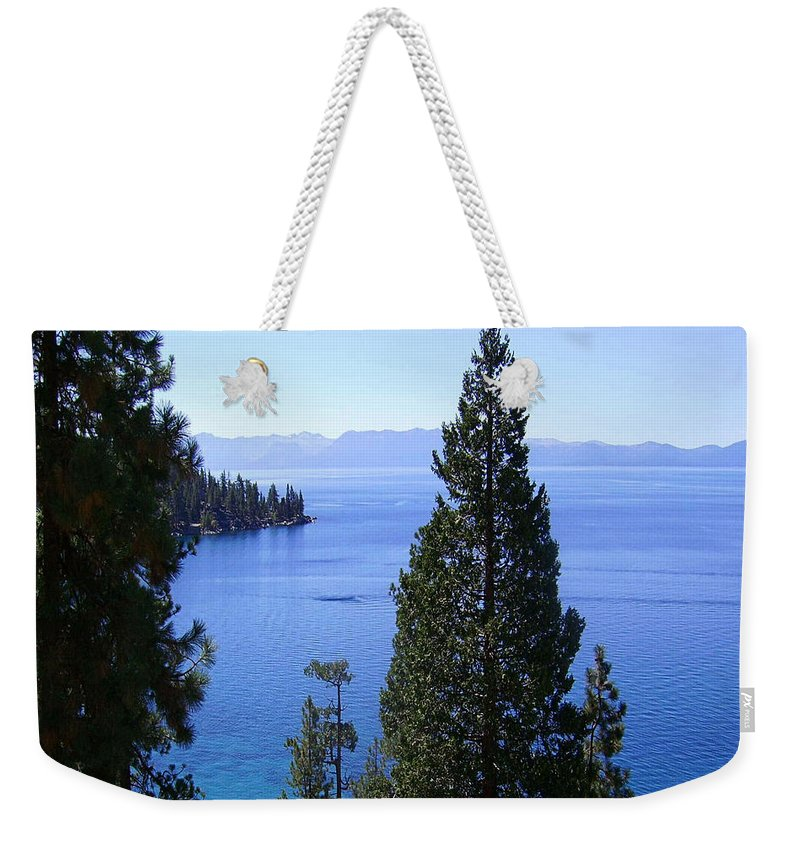 California Weekender Tote Bag featuring the photograph Lake Tahoe 4 by J D Owen