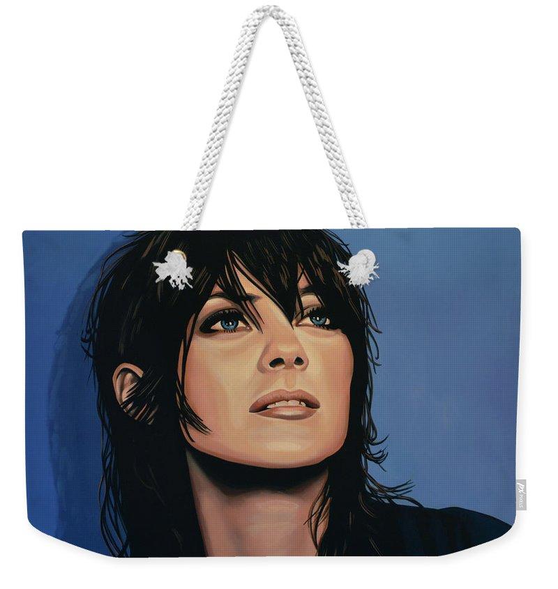 Marion Cotillard Weekender Tote Bags