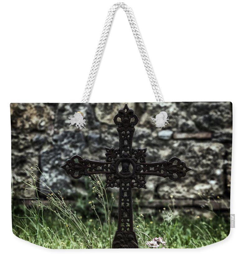 Grave Weekender Tote Bag featuring the photograph Memories by Joana Kruse