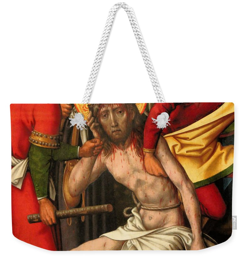 Museum Weekender Tote Bag featuring the photograph Museum 19 by Carlos Diaz