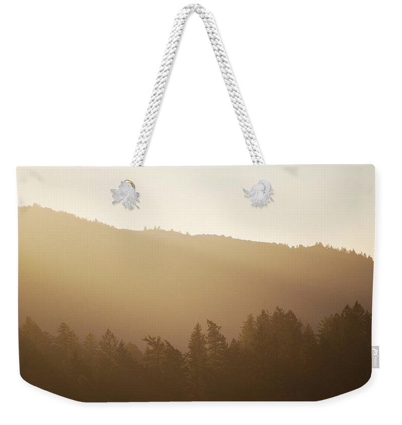 Becky Furgason Weekender Tote Bag featuring the photograph #thewholeworldisablur by Becky Furgason