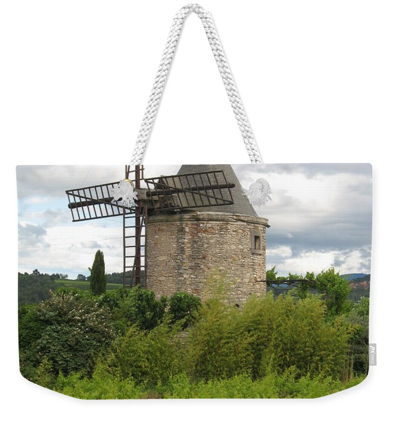 Mill Weekender Tote Bag featuring the photograph Old Windmill by Christiane Schulze Art And Photography