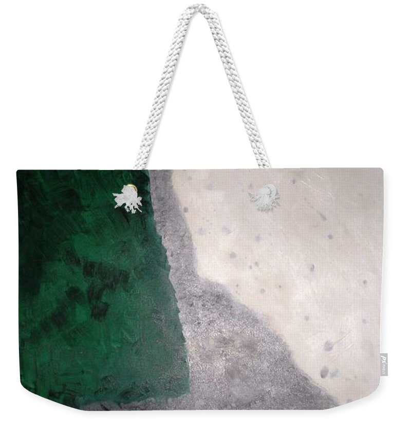 Abstract Weekender Tote Bag featuring the painting Orient by Graciela Castro