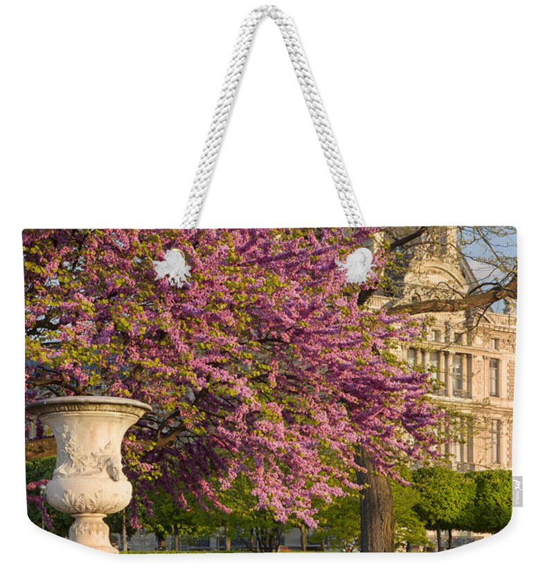 Architecture Weekender Tote Bag featuring the photograph Paris Springtime by Brian Jannsen