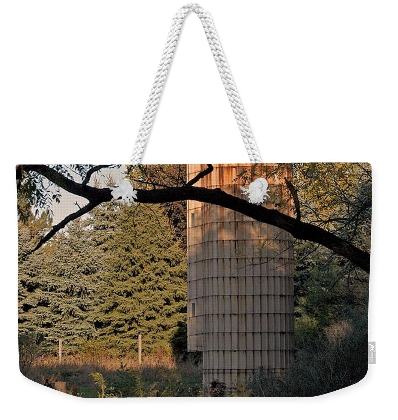 Rust Weekender Tote Bag featuring the photograph Past by Joseph Yarbrough