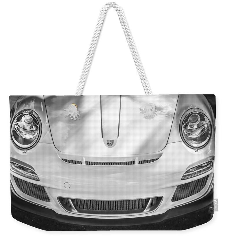 Porsche Weekender Tote Bag featuring the photograph Porsche 911 Gt3 Rs 4.0 by Rich Franco