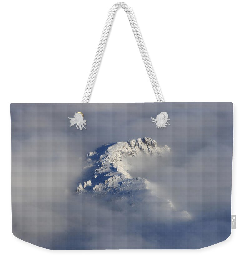 Rocky Mountains Weekender Tote Bag featuring the photograph Rocky Mountain High by James BO Insogna