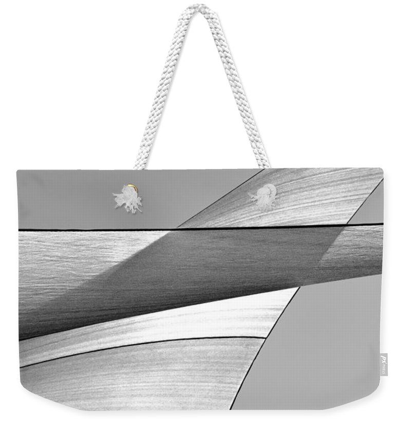 Black And White Abstract Photographs Weekender Tote Bags