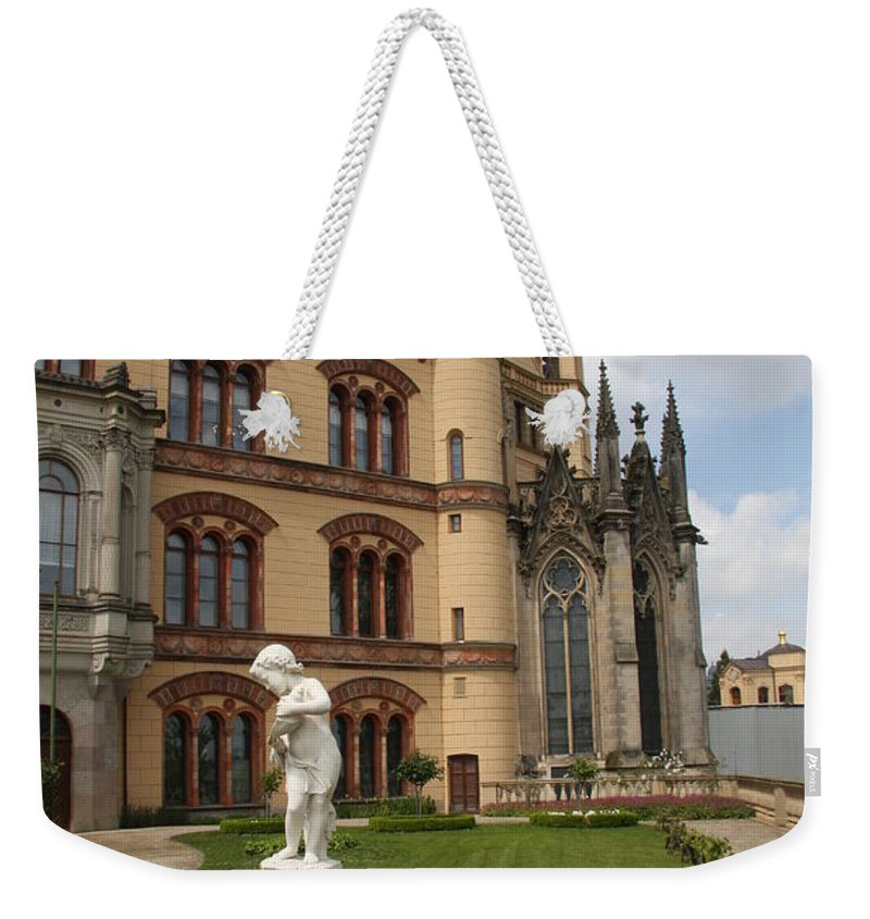 Schwerin Weekender Tote Bag featuring the photograph Schwerin - Palace - Germany by Christiane Schulze Art And Photography