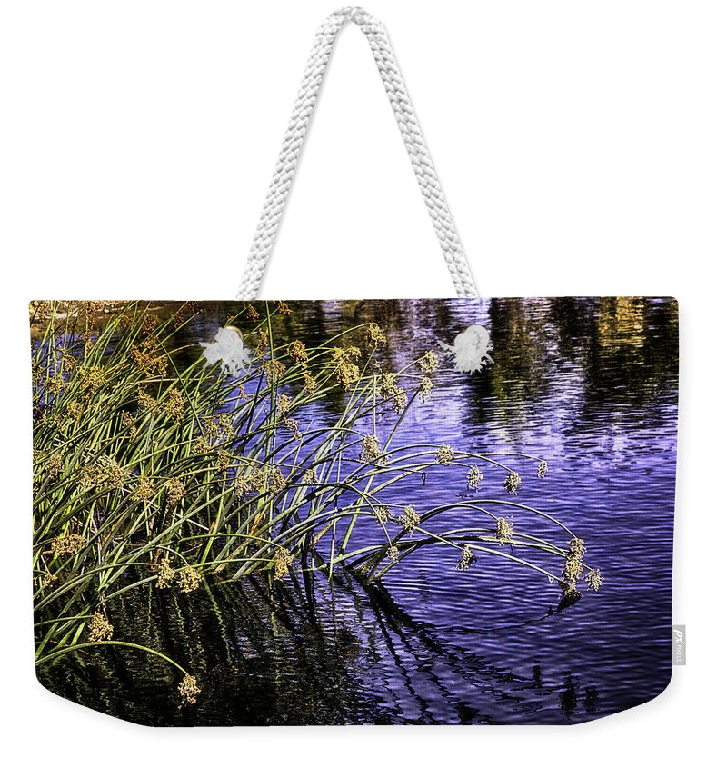 Water Weekender Tote Bag featuring the photograph Serenity by Madeline Ellis