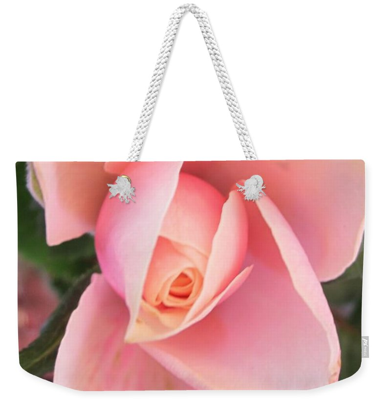 Rose Weekender Tote Bag featuring the photograph Solo by Rosita Larsson