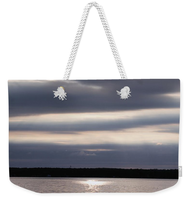Sunrise Weekender Tote Bag featuring the photograph Sunrise by William Norton