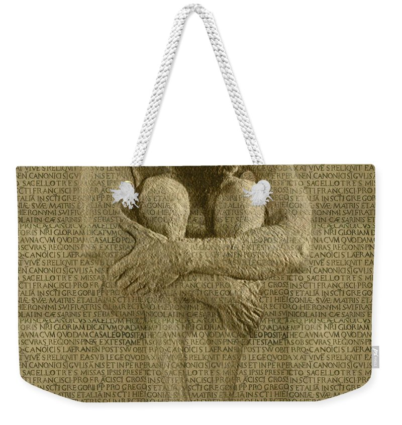 Nudes Weekender Tote Bag featuring the photograph The Artist by Kurt Van Wagner