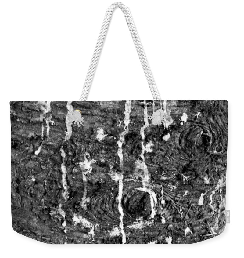 Weeping Weekender Tote Bag featuring the photograph Weeping by Chalet Roome-Rigdon