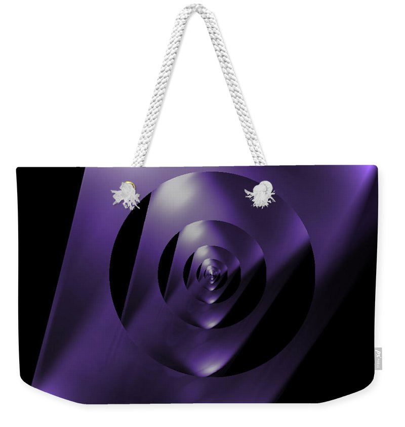 Looking Glass Weekender Tote Bag featuring the photograph Through The Looking Glass by Luther Fine Art