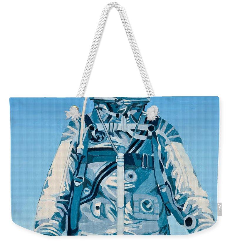 Astronaut Weekender Tote Bags