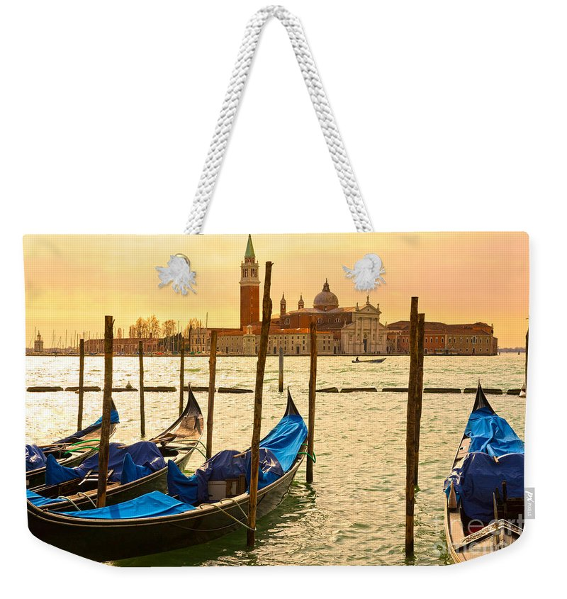 Balcony Weekender Tote Bag featuring the photograph Venice by Luciano Mortula