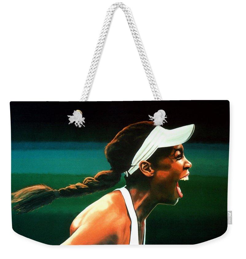 Venus Williams Weekender Tote Bags