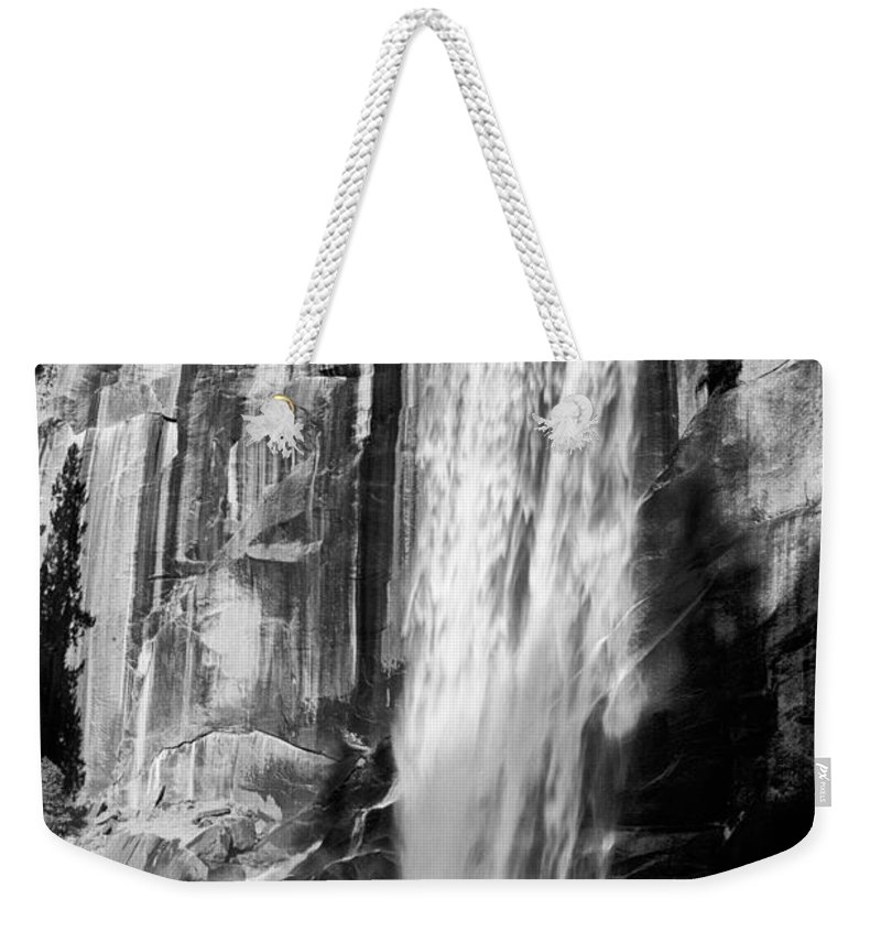 Water Weekender Tote Bag featuring the photograph Vernal Falls 2 by Cat Connor